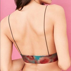844c136858c24 Urban Outfitters Intimates   Sleepwear - Out From Under Lena Metallic Micro Skinny  Bra-S